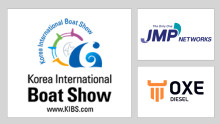 OXE Diesel displayed at Korea International Boat Show 9th to 12th of May