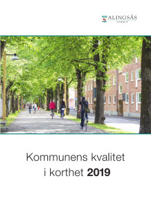Alingsås kommuns kvalitet i korthet 2019