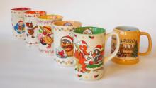 Fuchs und Elster feiern Weihnachten - neue Kindertasse ist online erhältlich