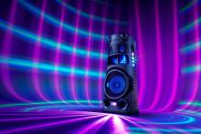 Sony introduceert nieuwe serie High Power Audio-partyspeaker