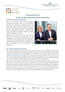 Interview mit CEO Tim Paech & HR Direktorin Christin Kohnke