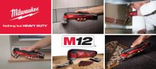 Milwaukee Multiverktøy – Ett verktøy, mange løsninger!