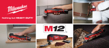 Milwaukee Multiverktyg – Ett verktyg, många lösningar!