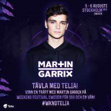 Telia ingår samarbete med Weekend Festival Sweden