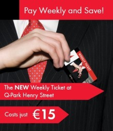 The All-New Weekly Ticket at Q-Park Henry Street!