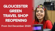 Gloucester Green travel shop reopening