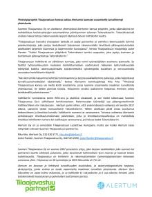 Alertumin yhteistyöprojekti Tilaajavastuun kanssa edistää koulutustietojen viemistä Taitorekisteriin