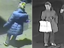 CCTV images of woman who saw Brighton street assault