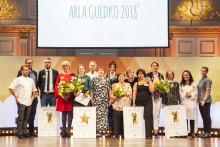 Vinnarna korade i Arla Guldko 2018