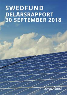 Swedfund delårsrapport juli-september 2018
