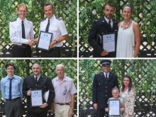 Police officers, staff and volunteers honoured at awards ceremony