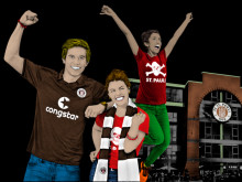 """Gamer meets Fussballprofi"" am Millerntor"