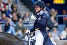 Fem dressyrryttare klara för Gothenburg Horse Show