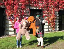 21. Prießnitzer Highland Games und Bärenherz war wieder dabei