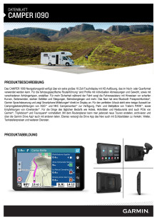 Datenblatt Garmin Camper 1090 MT-D