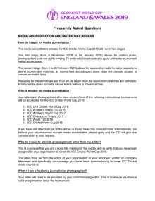 ICC Media Accreditation FAQs