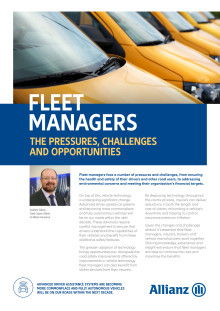 Fleet Managers, the pressures, challenges and opportunities