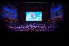 Den hyllade filmmusiken från Studio Ghibli-filmerna framförs live på Konserthuset Stockholm