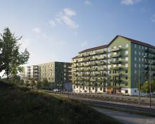 Stena Fastigheter valde Tornstaden för hyresrättsprojekt i Göteborg