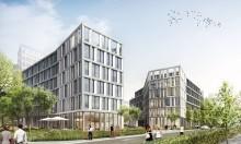 STRABAG Real Estate bittet zum Tanz: Baubeginn für THE TWIST in Eschborn