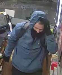 CCTV appeal following robbery at Wirral petrol station