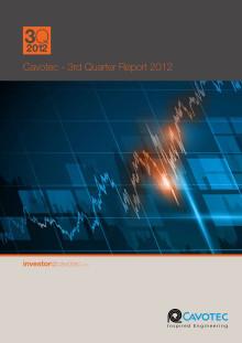 Cavotec 3Q12 Report and background materials