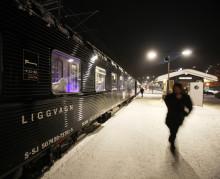 Bättre tidtabell för nattågen till och från Jämtland