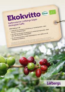 Löfbergs ekologiska kvitto 2014