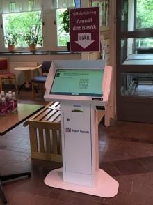 Nu inför Region Uppsala självbetjäningsterminaler på bred front