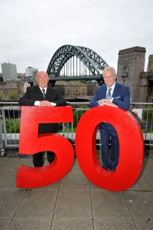Wearside man celebrates 50 years behind the wheel at Go North East