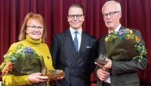 Prins Daniel delade ut Guldklubban till Alf Göransson och Marie Berglund