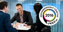 Allra utsett till Rekommenderat företag 2016