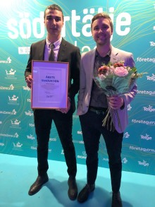 Lokatt Helmets - vinnare av Södertälje Science Parks innovationspris