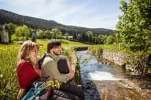 Einsteigen und abschalten auf dem KAMMWEG Erzgebirge Vogtland