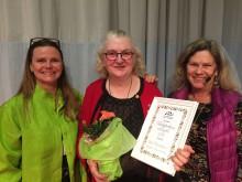 Riksförbundet Svensk Trädgård har delat ut utmärkelsen Trädgårdens Eldsjäl  under Nordiska Trädgårdar