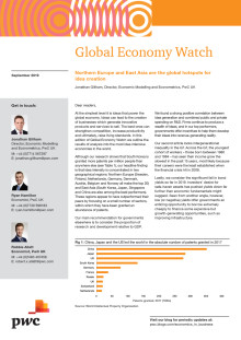 Global Economy Watch - September 2019