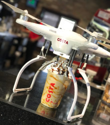 Costa Unveils the 'Coffee-Copter'