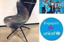 BoConcept Köln: Kunstaktion zu Gunsten Unicef bis 31.3.2018