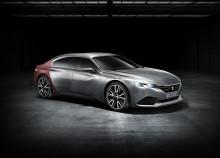 Peugeot Exalt – hantverk, hi-tech & hänförande design
