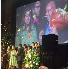 One Stop Future Shop vann första pris på gala i natt