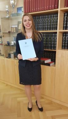 BdS gratuliert Katharina Wilhoff: Referentin ist zugelassene Syndikusrechtsanwältin
