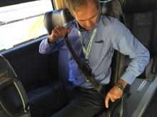 Halvparten vil bruke bussbelte