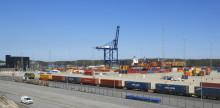 Största hamnbygget på 100 år