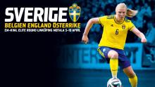 Fem matcher i UEFA Women´s U19 Elite Round till Linköping