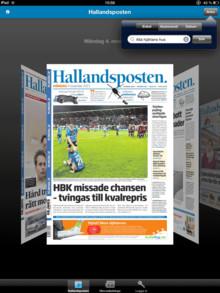 Hallandsposten är först i Sverige med att erbjuda läsarna ett 80 års digitalt tidningsarkiv.