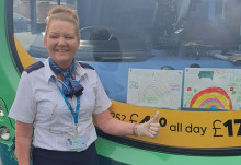 Why your bus driver might be wearing bright, colourful clothing this Easter weekend