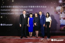 Blueair and Fairmont Beijing celebrate 1 year of Clean Air partnership