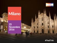 Eutelsat TV Awards: venerdì a Milano l'assegnazione dei premi dell'edizione 2016