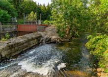 Tranås Energi bygger fiskväg i Visskvarn