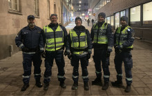 Fler mobila ordningsvakter i Stockholms stad